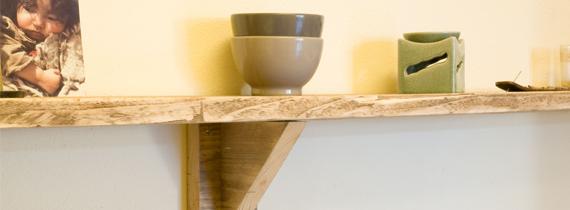 Keuken Wandplank : Portfolio Schots en Scheef